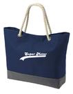 Strandtas-shopper-model-1-marine-met-bedrukking-naar-keuze