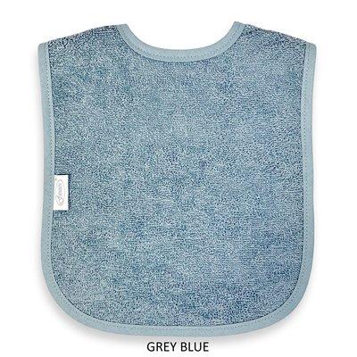 Slab grey blue geborduurd met naam