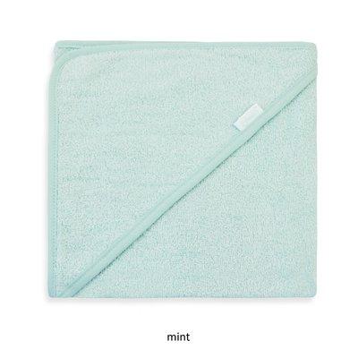 Badcape mint met naam