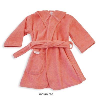Badjas indian red geborduurd met naam