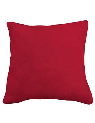 Coral fleece kussen donker rood