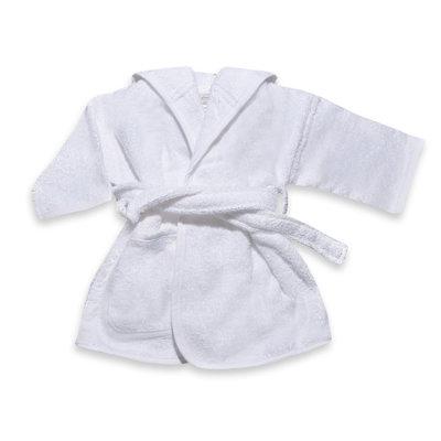Badjas Wit geborduurd met naam