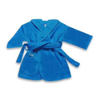 Badjas turquoise geborduurd met naam