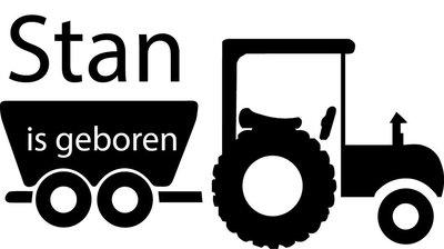 Sticker Tractor
