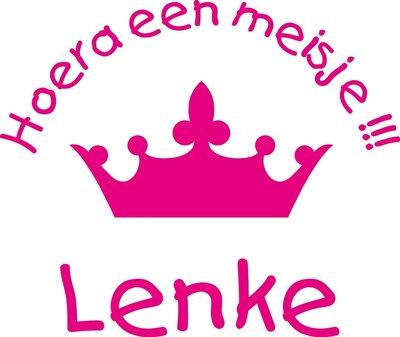 Sticker Kroon