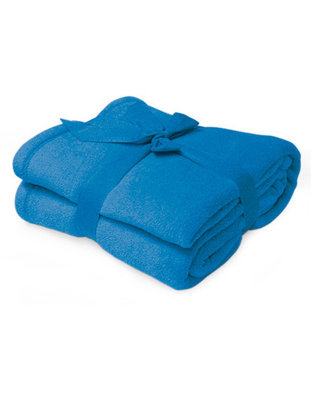 fleece deken superzacht blauw