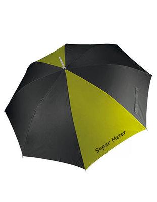 Storm paraplu met tekst