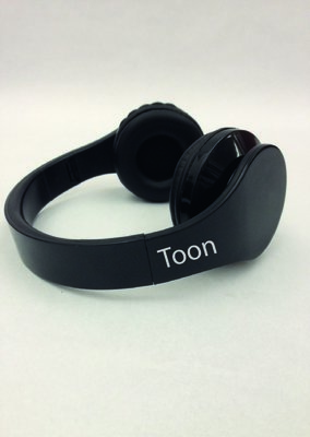 Draadloze, opvouwbare bluetooth headset
