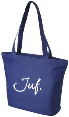 Strandtas/shopper marine Juf