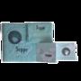 Geboorteset gepersonaliseerd aan de hand van een geboortekaartje 1:klein
